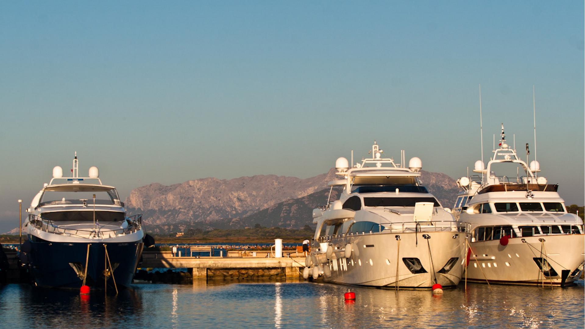 Posto barca al Marina di Olbia